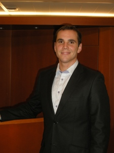 Photo of EFAy President Roccu Garoby