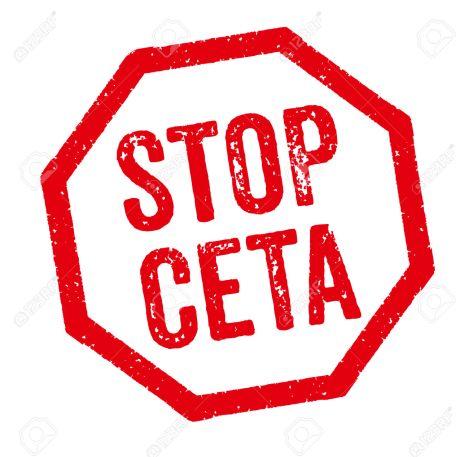 Red Stamp - Stop CETA